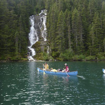 bowron-paddle_waterfall
