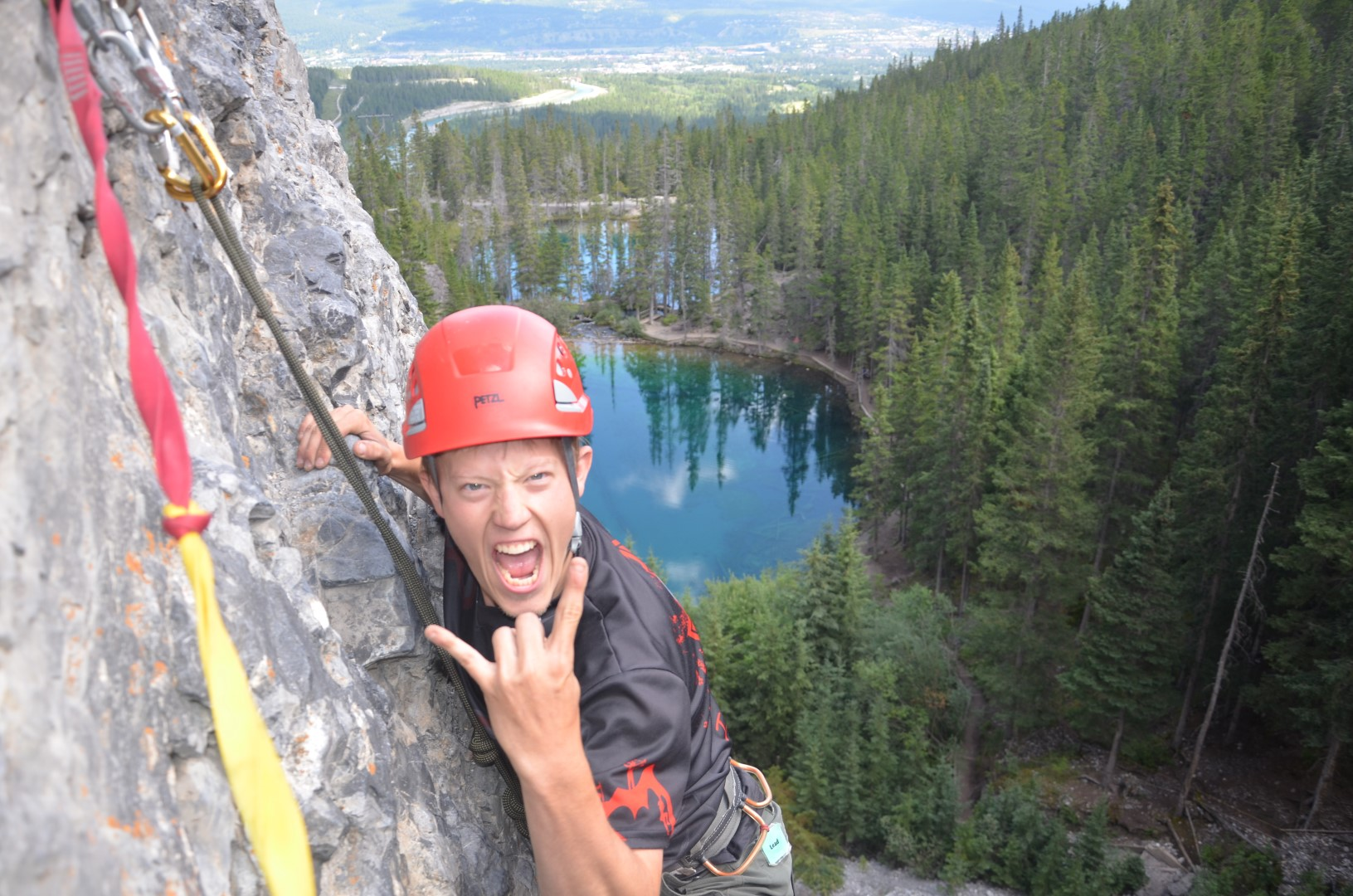 Rock Climbing with Type 1 Diabetes