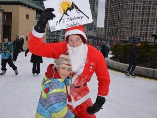 Kids need someone to look up to with their diabetes... even if it is Santa!
