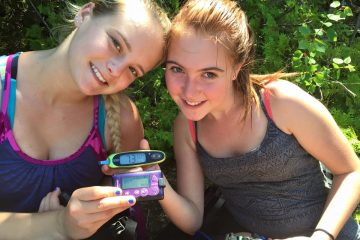 """""""My name is Amy (Left) and I'm 21. I've been coming to ICD programs now for almost 6 years. I still remember the first program and how it changed my life. I love coming, exploring new places and making these amazing friends like Dana.""""  Dana - """""""