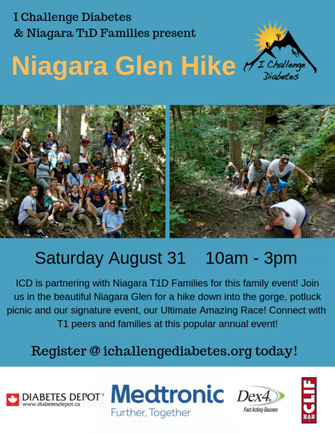Niagara Hike and Ultimate Amazing Race