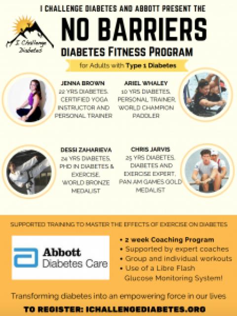No Barriers: Adult Diabetes Fitness Program