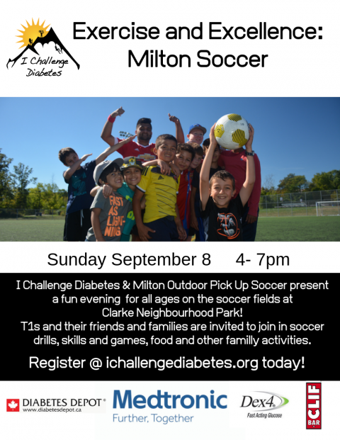 Exercise & Excellence: Milton Soccer